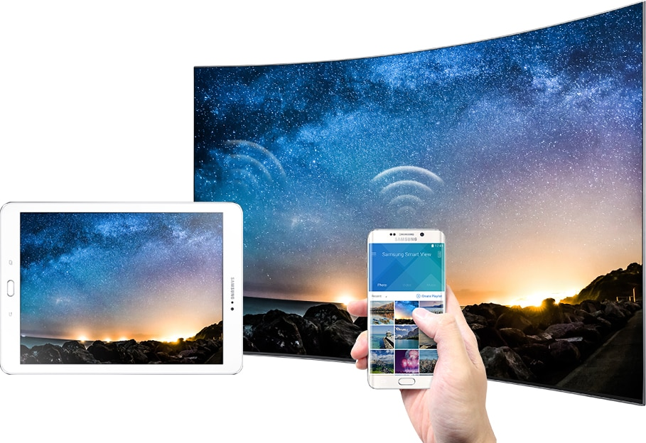 Funkcje Smart TV: Quick Connect i Smart View